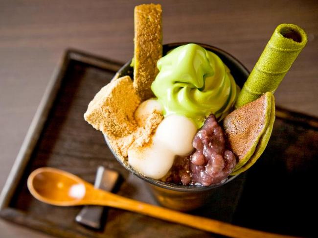 日本甜品大全_抹茶甜品的世界——京都茶寮翠泉(组图)