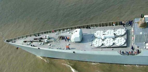 解放军罕见拒收最后2艘052C 外媒: 与船厂扯皮