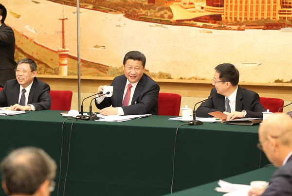 2015两会消息    上海市社科院经济研究所副所长张兆安谈了深入推进