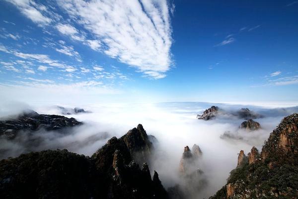 雪后黄山,现最美中国风景
