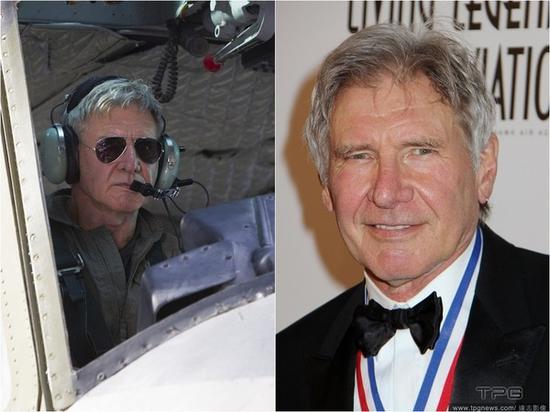 哈里森福特平时很喜欢开飞机