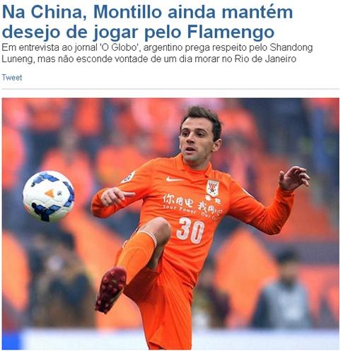 蒙蒂略为重返巴西罢赛?