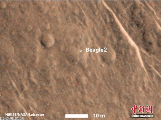 资料图:火星表面