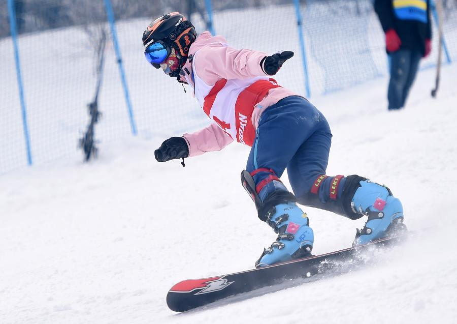 (体育)(5)单板滑雪——中国选手亮相世青赛(图)