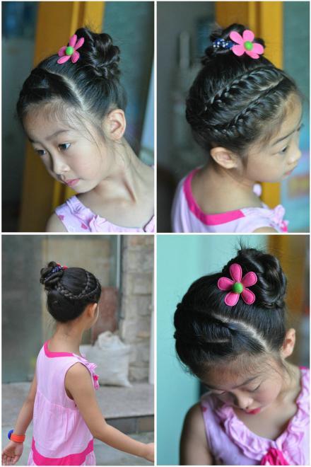 适合女孩的各种精美发型图片