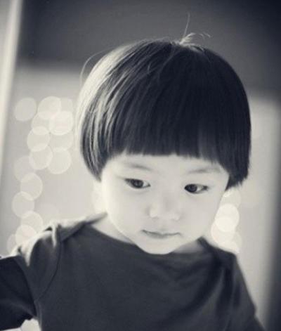 这样的儿童发型设计图片,够in够fashion.