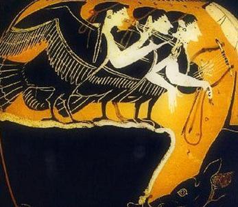 希腊神话也有美人鱼 水手激怒美人鱼遭灭顶之灾图片