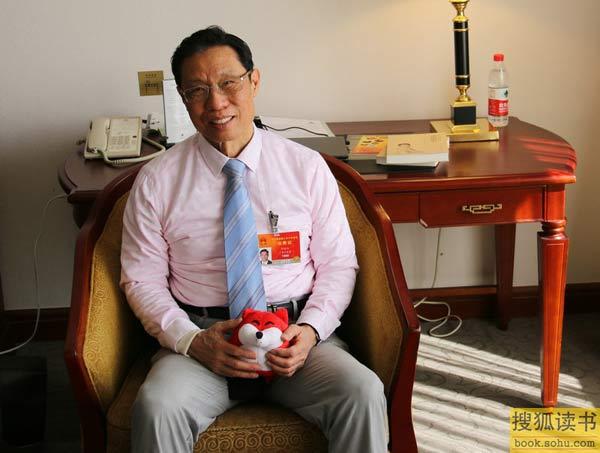 钟南山院士接受搜狐采访