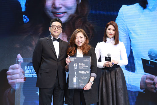网络最具人气奖Sue-Cheung