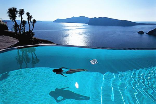的照片_美到尖叫的酒店泳池,真想一秒变夏天