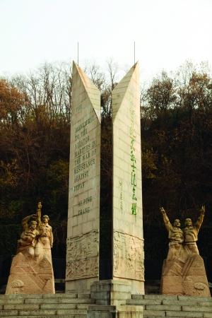 南京抗日航空烈士纪念碑 CFP供图
