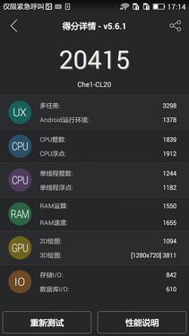 联想P70对比荣耀4X全网通 千元档大PK