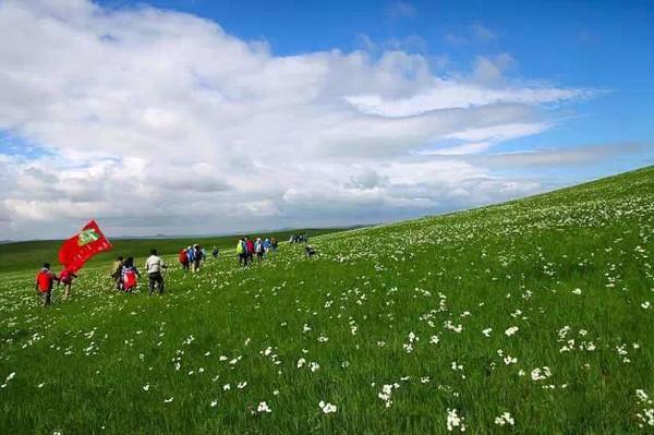 《狼图腾》电影的拍摄地 内蒙古的乌拉盖草原.