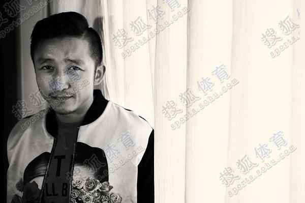 图文:搜狐专访邹市明 沧桑男