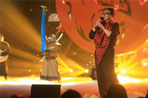 好歌曲年度盛典 刘欢助唱杭盖乐队