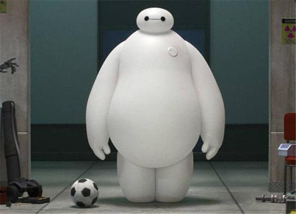或者你可以叫他大白,胖子,白球恩,白胖胖……这个高大,臃肿,线条简单