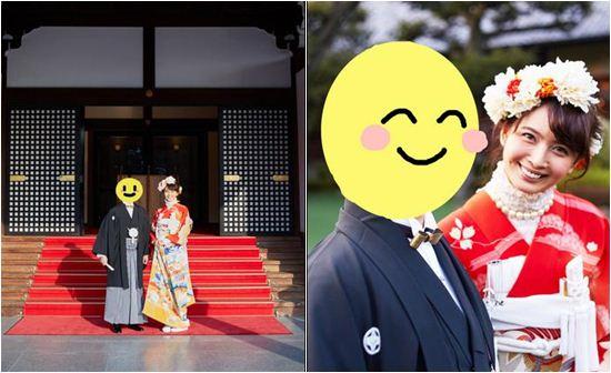 加藤夏希公开婚礼照片