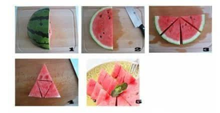 文艺青年吃西瓜,就要有文艺范。给大家介绍几种切西瓜的方法