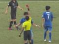 亚冠视频-张贤秀对判罚不满 抗议裁判两黄变一红