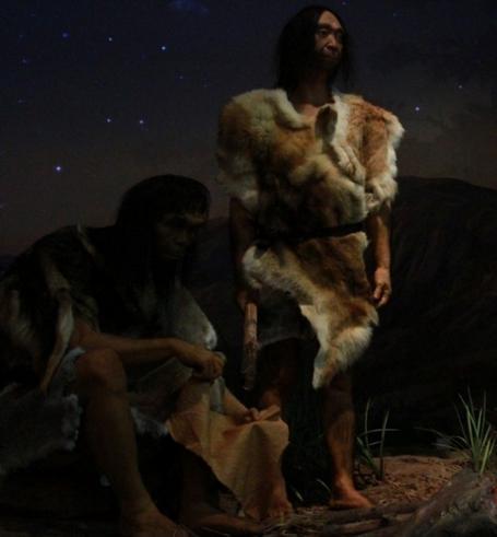 千年之前的原始人豹纹才叫经典