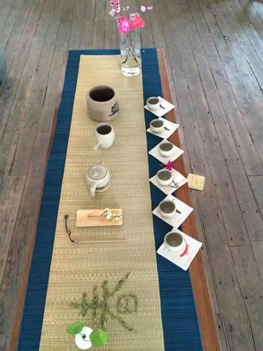 瓦库茶席设计月赛第一期欣赏图片