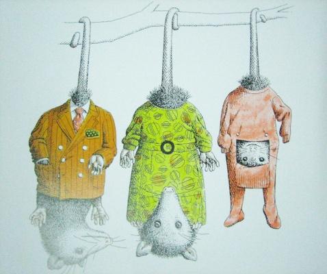 微信头像动物穿衣服