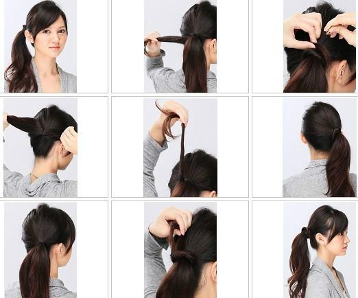 13种扎头发方法,w88官方网站简单实用每天不重样