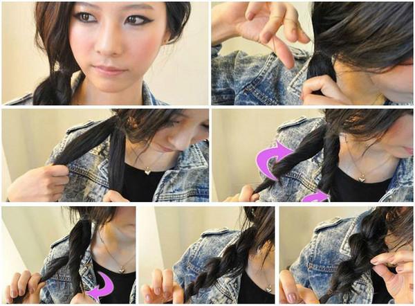 保养头发的小妙招图片