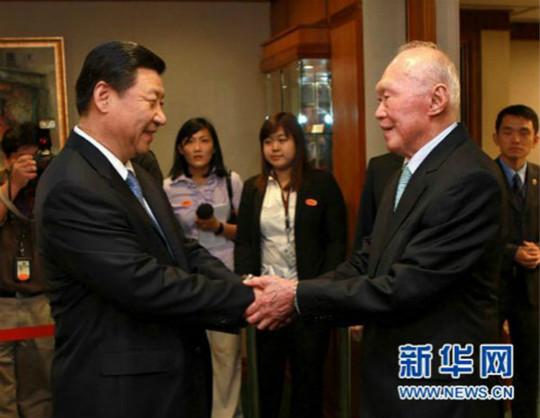李光耀与五代中国领导人的交往