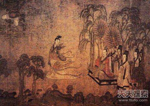 中国十大传世名画 承载着古老东方民族独特的艺术气质