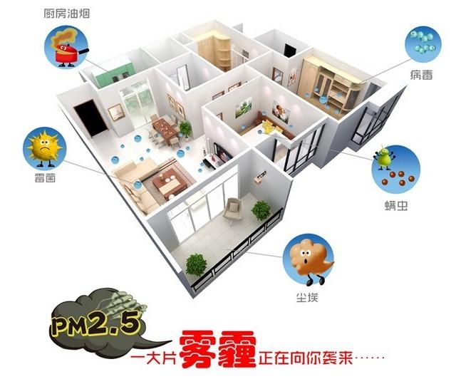 打造室内好空气 居家必备空气净化器