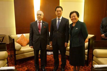 外交部副部长王超出席巴基斯坦驻华使馆国庆招待会