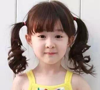 简单又漂亮的小女孩发型,妈妈们收好了!图片