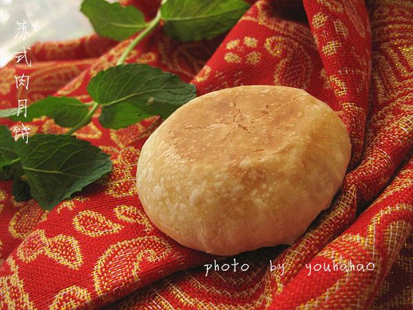 【韩食】传统中式点心--苏式肉月饼