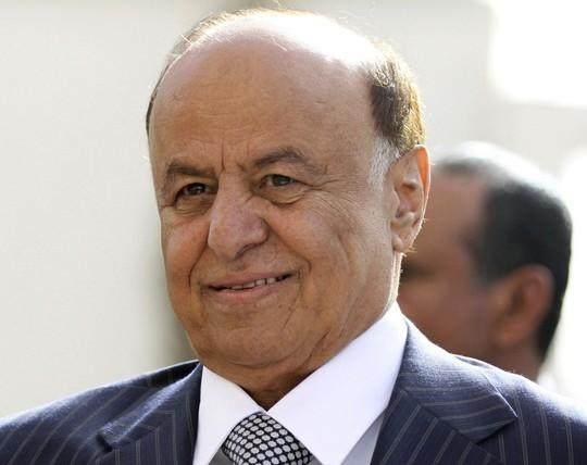 资料图:也门总统哈迪。