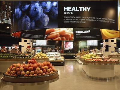 100平方超市设计图片展示