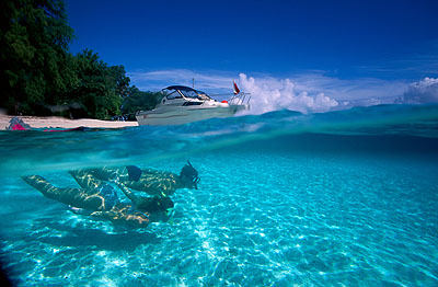 帕劳著名旅游景点