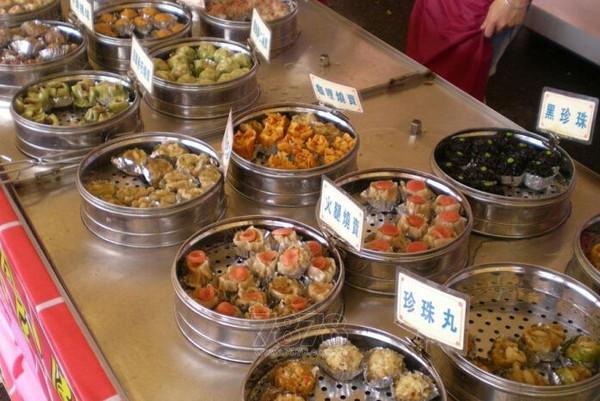 2015东莞道美食节种类美食城赛格小吃图片