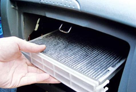 的空气比较纯净,以此保证发动机正常工作.一般汽车的空滤在高清图片