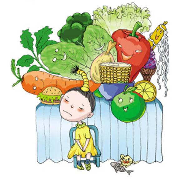 四、某种食物曾经造成孩子的心理阴影 我们以前经常看到一些黑心的商贩在孩子的饮食里面投毒,导致很多孩子食物中毒,这些孩子以后看到曾经让自己有噩梦经历的食品就再也不想碰了。所以某些食物孩子吃了以后,确实出现了一些不良反应,比如腹痛,恶心,不消化等等,这些不愉快的经历都能造成孩子对这类食物的抗拒心理。