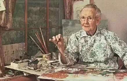 摩西奶奶100岁感言:孩子,人生永远没有太晚的开始
