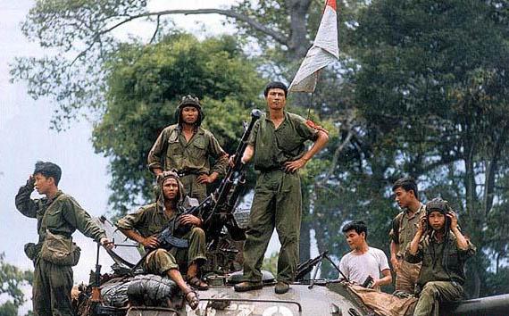 料图:越南海军特种部队官兵.-瑞士公司为越定制手表 声称 南沙属越图片