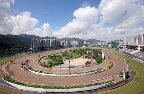 州跑马场车�_高大上的济南国际赛马场,与逸动产品注重品质的诉求异曲同工的吻合