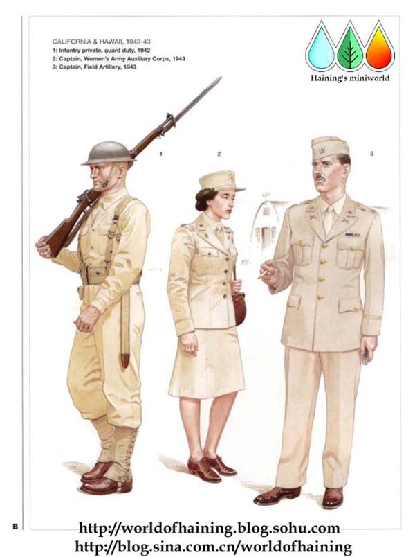 二战美国陆军军服:太平洋战场