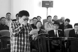 徐亚俊在末了陈说时几度呜咽 法院供图