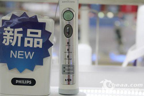 飞利浦HX6932电动牙刷按钮