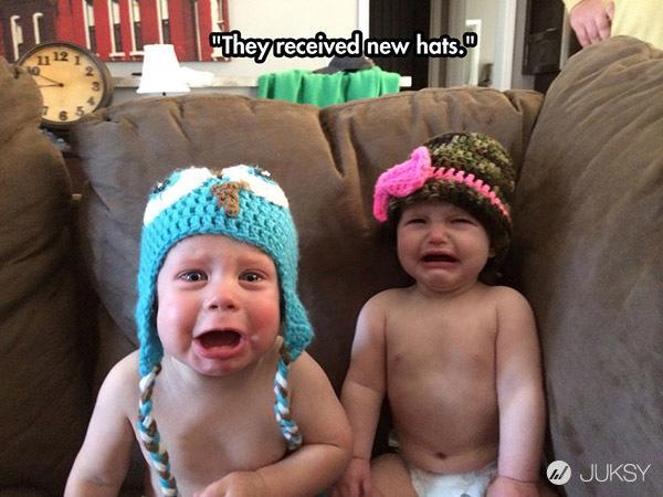 幼儿搞笑和哭的图片