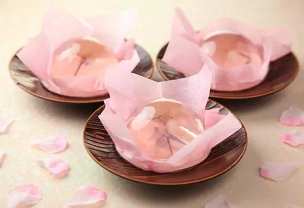 粉嫩精致的樱花名字所有美食自贡美食图片