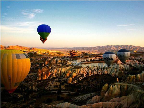 土耳其-放飞希望的热气球