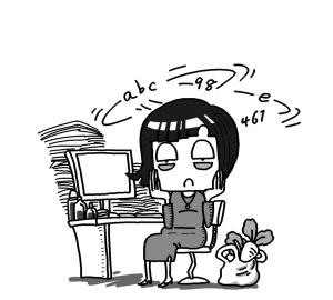 """工作压力大 30岁得""""初老症""""(图)"""